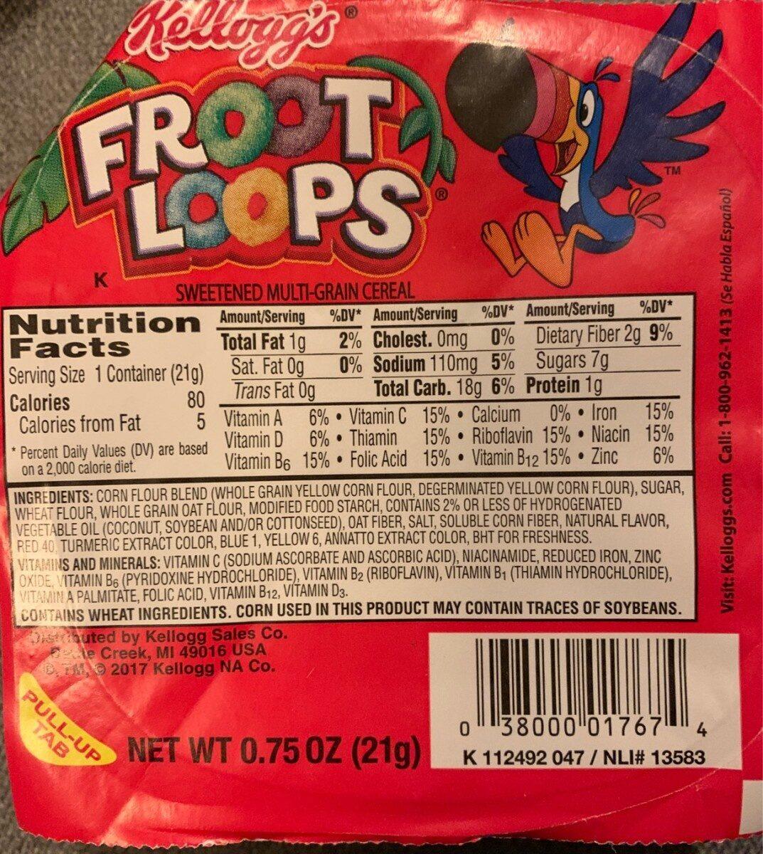 Sweetened multi-grain cereal - Product - en
