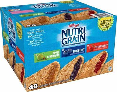 Nutrigrain cereal bars variety - Product - en