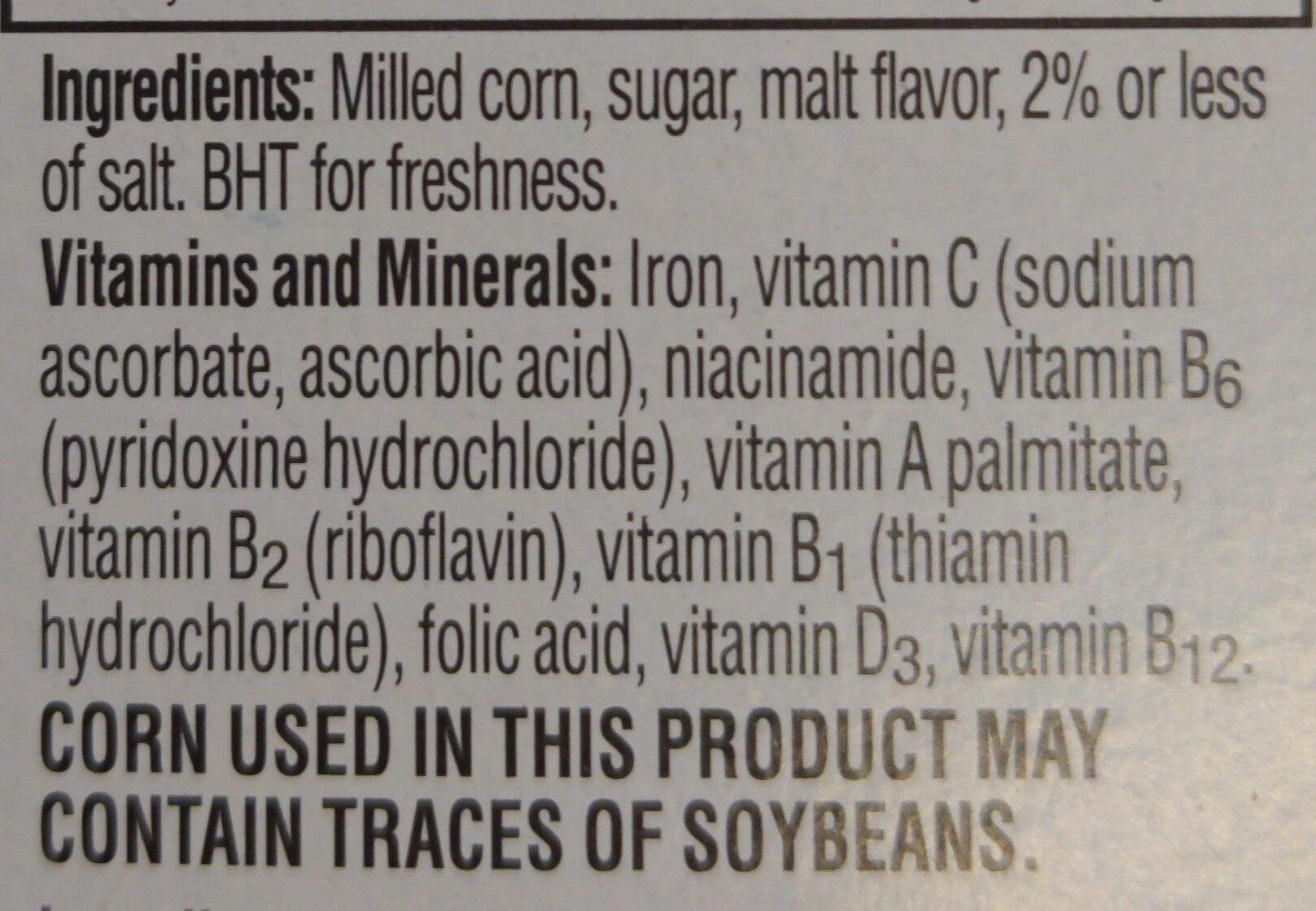 Kellogg s - Ingredients - en