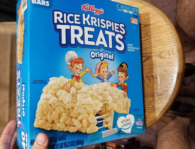 Rice krispies treats, the original - Product