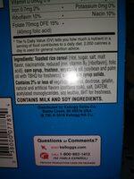 rice krispies - Ingredients - en