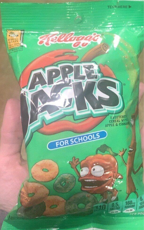 Kellogg'S Apple Jacks Cereal Reduced Sugar 1Oz - Prodotto - en