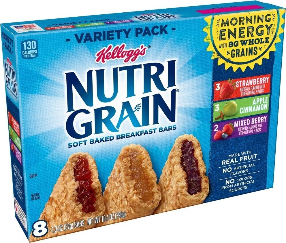Breakfast bars variety - Product - en