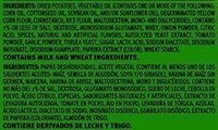 Potato crisps chips - Ingredients - en