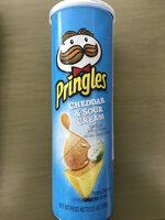 Potato crisps, cheddar & sour cream - Producto - es