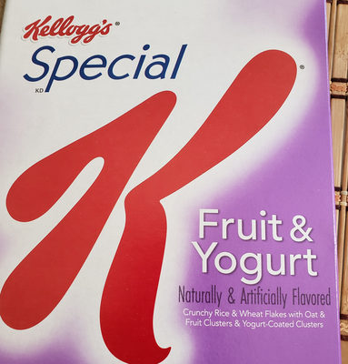 Special K fruit & yogurt - Product