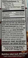 Protein snack bar - Ingredients - fr