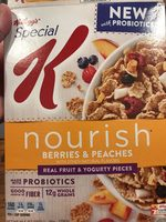 Cereal, berries & peaches - Product - en