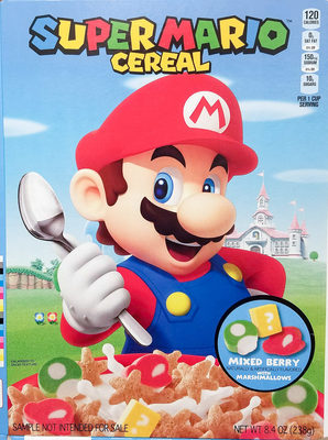 Super mario cereal - Product