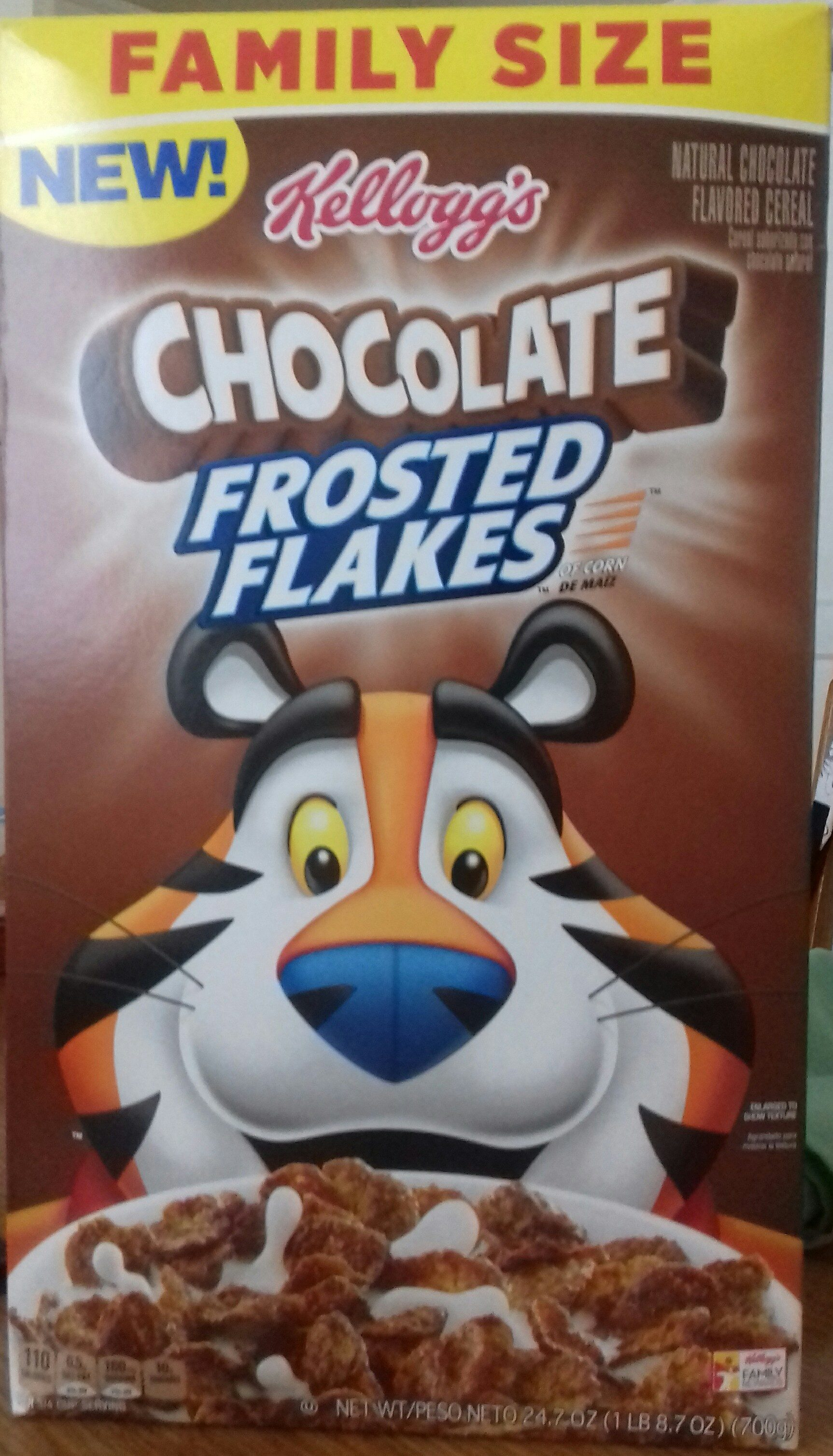 Natural chocolate flavored cereal - Product - en