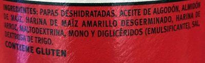 Pringles - Original - Ingrediënten - es