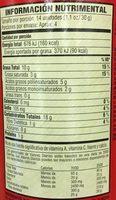 Pringles - Original - Voedingswaarden - es