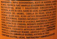 Pringles Queso - Ingrediënten - es