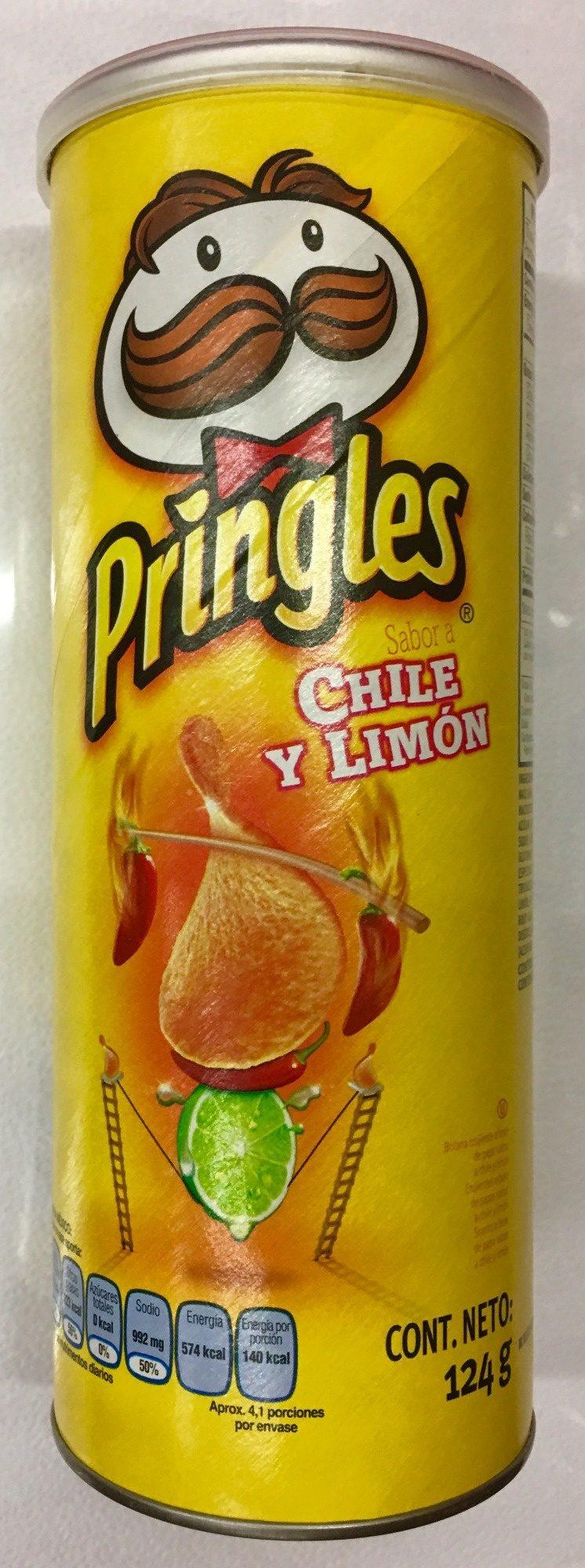 Pringles Chile y Limón - Producto - es
