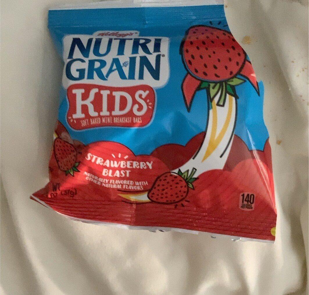 Nutri grain strawberry blast bites soft baked - Prodotto - en