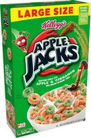 Apple Jacks breakfast cereal - Product - en