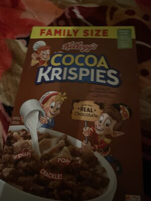 Rice cripies Cocoa krispies chocolatey - Product - en