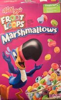 Sweetened multi-grain cereal with marshmallows, marshmallows - Product - en