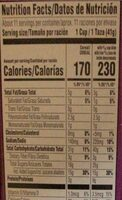 Krave cereal with double chocolate flavored center - Nutrition facts - en