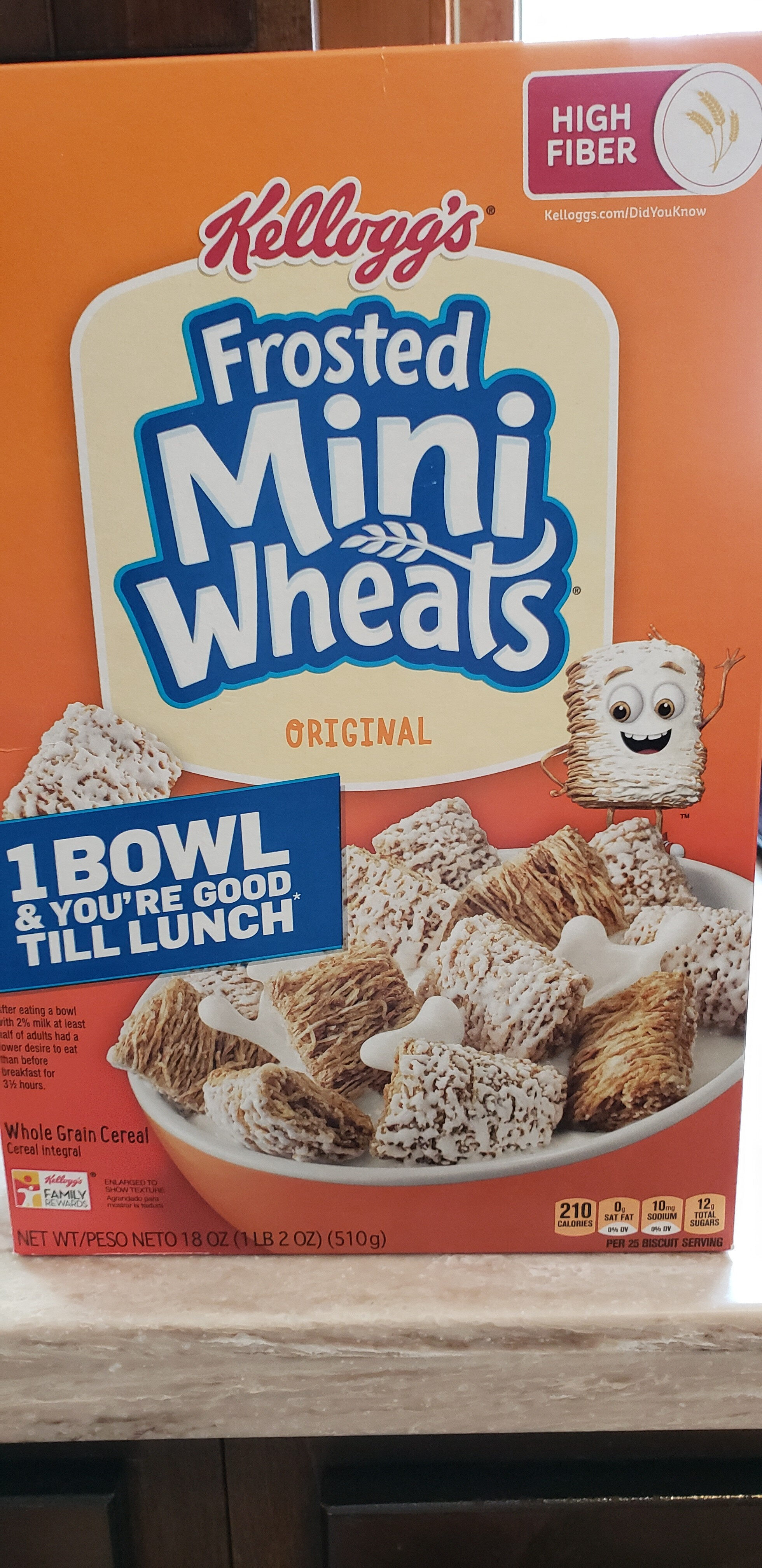 frosted mini wheats - Product