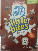 Chocolate frosted mini wheats, chocolate - Product - en