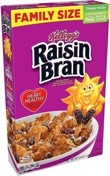 Raisin bran delicious raisins perfectly balanced with crisp - Product - en