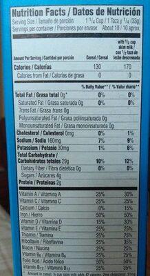 Rice Krispies - Nutrition facts - en