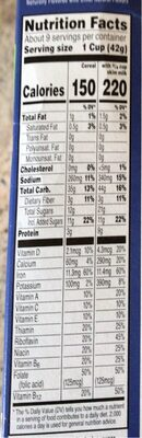 Special k blueberry with lemon clusters cereal - Nutrition facts - en