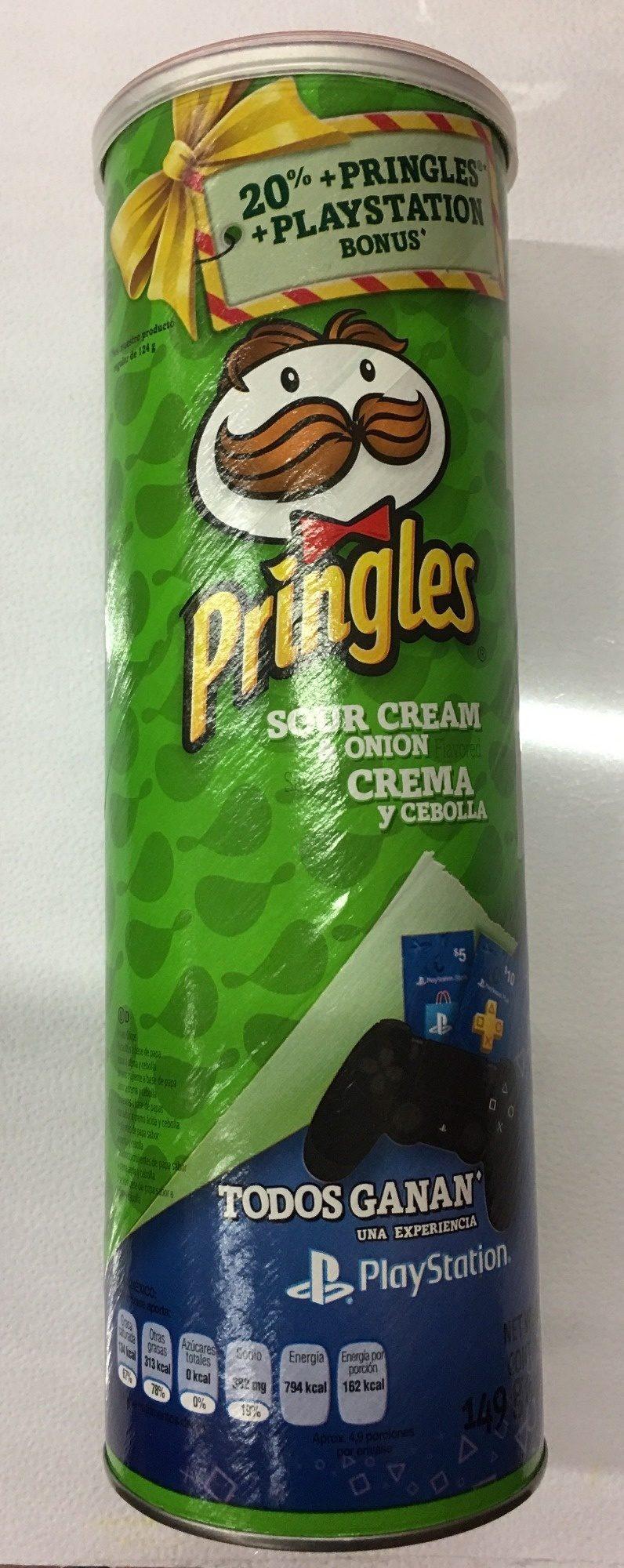 Pringles Crema y Cebolla - Product - es