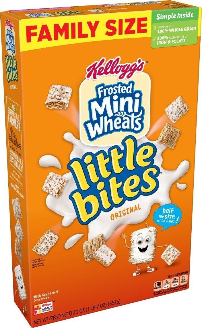 Original frosted mini wheats whole grain cereal, original - Product - en