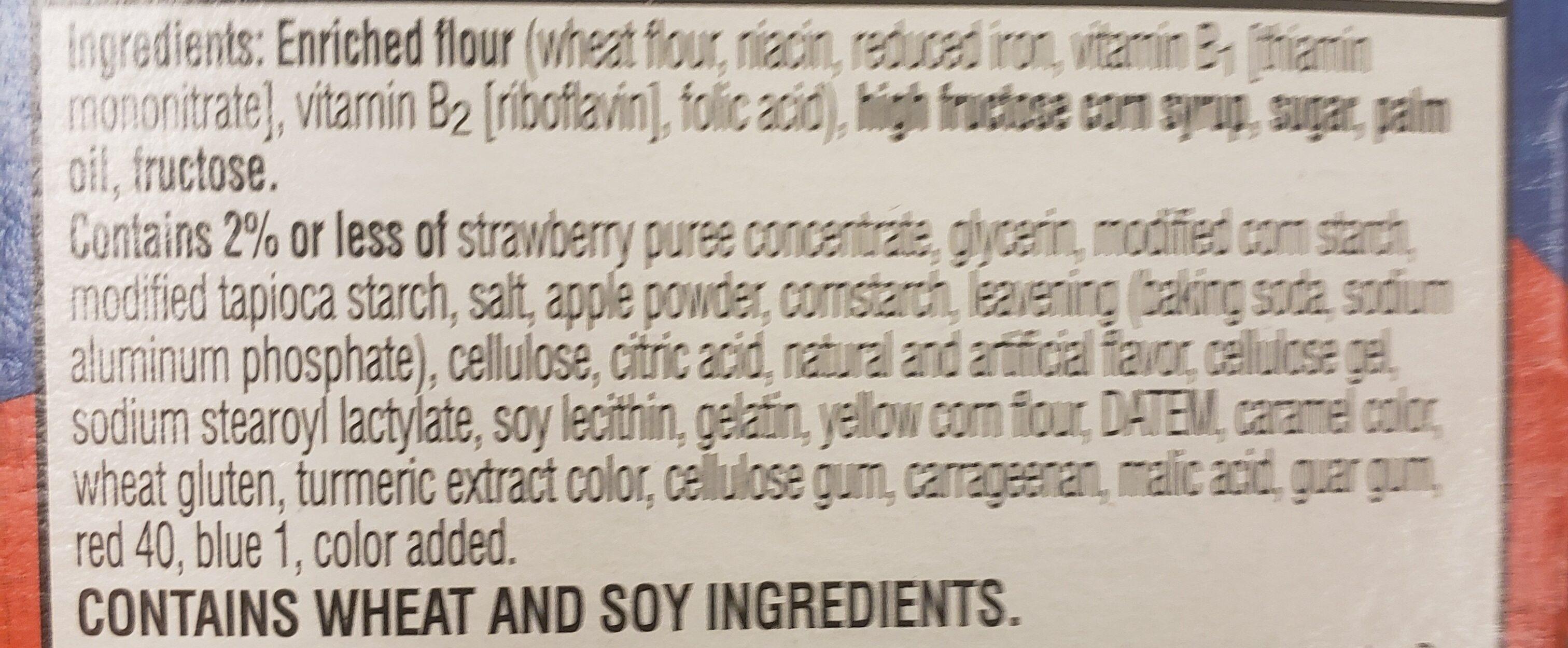 pop tarts bites - Ingredients