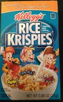 Rice krispies - Product