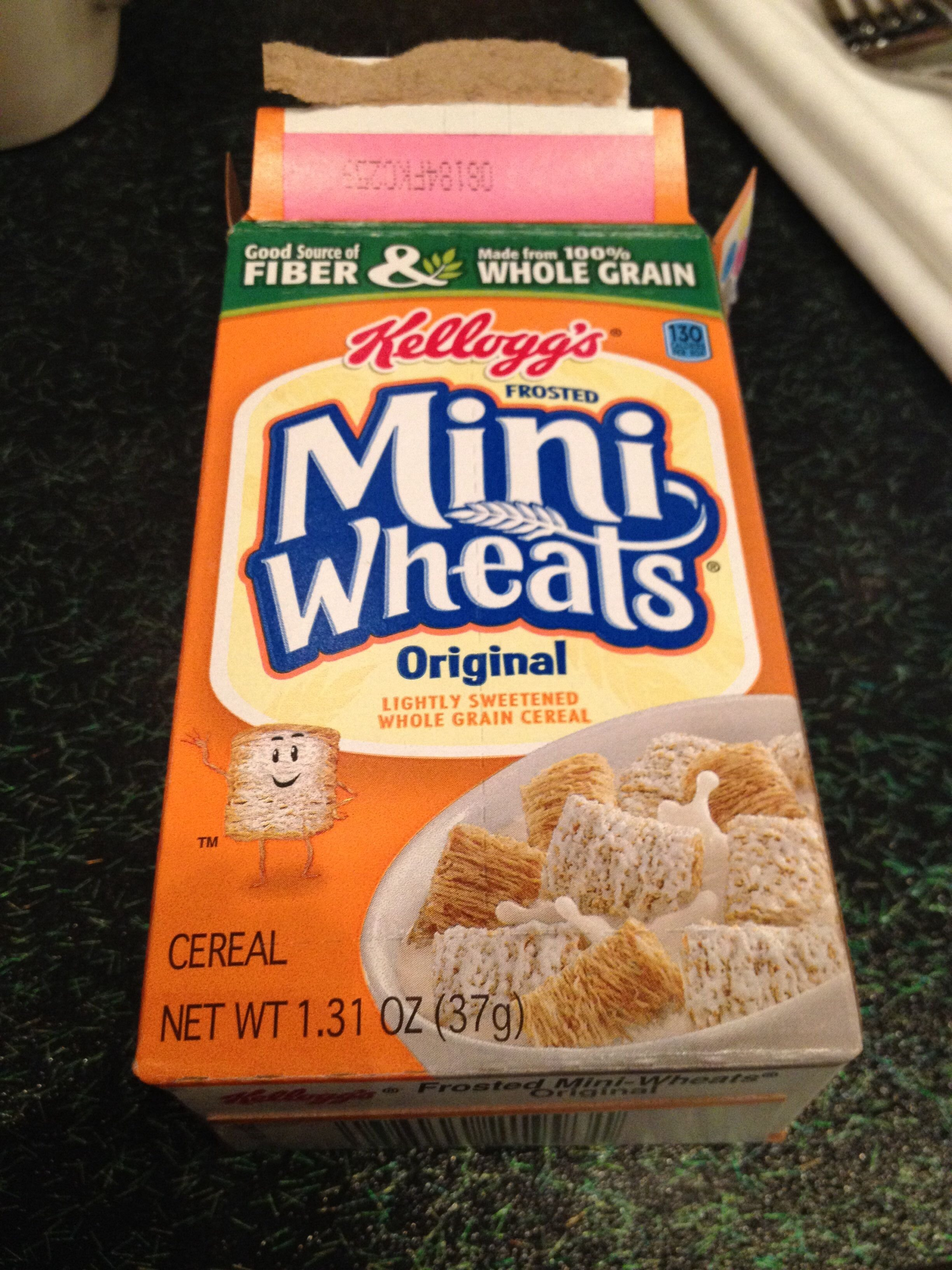 Kellogg's, mini wheals, lightly sweetened whole grain cereal, original, original - Product - en