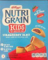 Nutri-Grain strawberry blast - Product - en