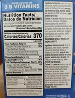 Frosted strawberry pastries - Nutrition facts - en