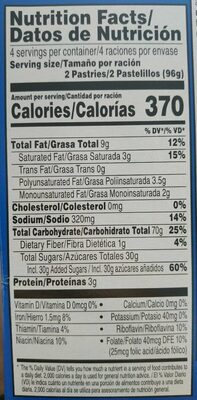 Frosted cherry - Nutrition facts - en