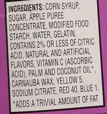 Disney Princess - Ingredients - en