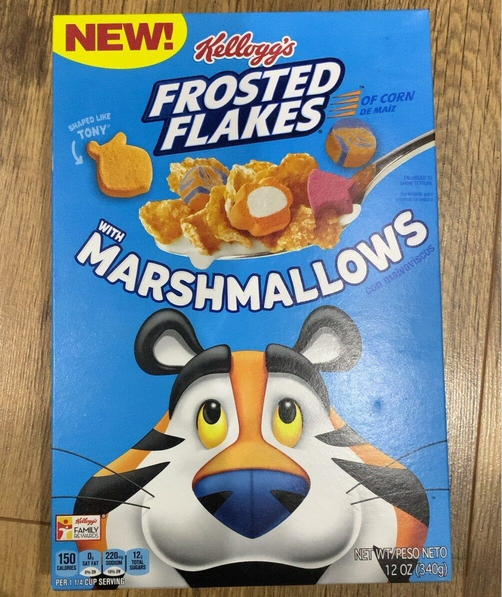 Frosted flakes - Product - en