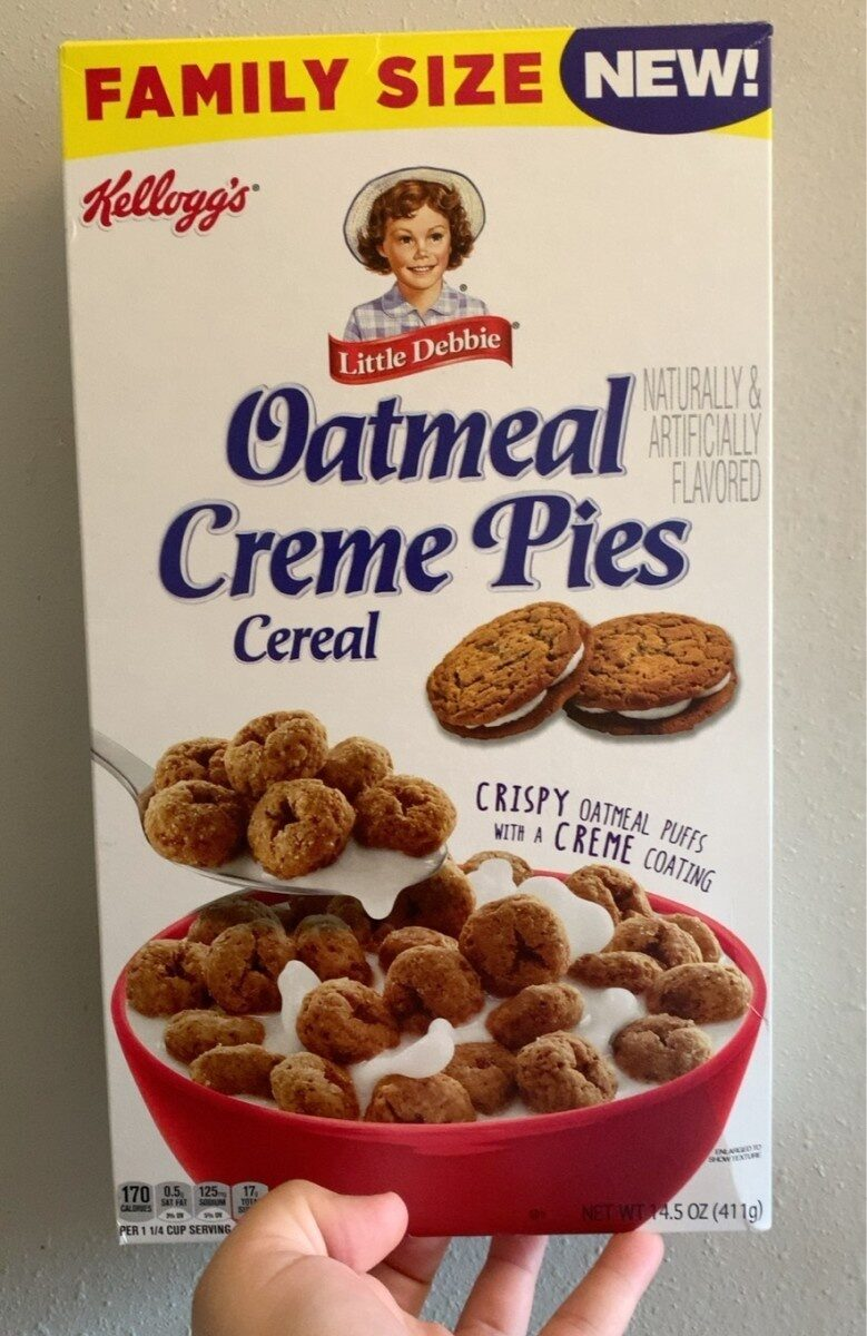 Oatmeal Cream Pies Cereal - Product - en