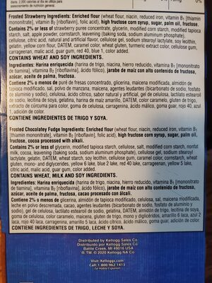 pop tarts bites - Ingredients - en