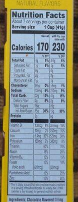 Krave chocolate chip cookie dough - Nutrition facts - en
