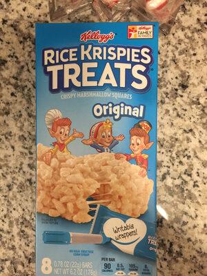 Original crispy marshmallow squares, original - Product - en