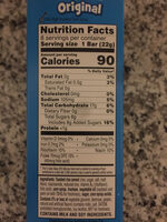 Original crispy marshmallow squares, original - Nutrition facts - en