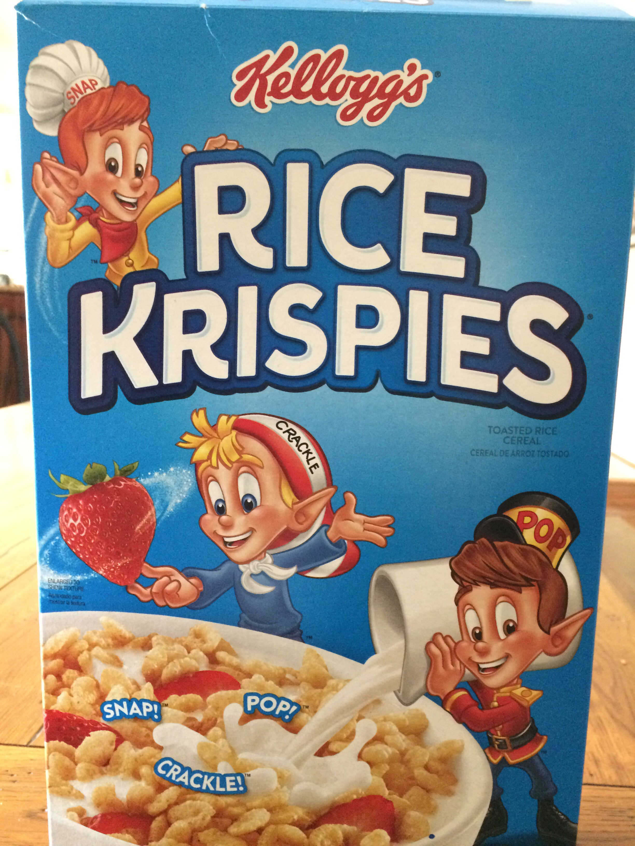 Toasted rice cereal - Product - en
