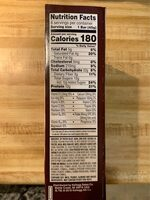 Protein meal bars, double chocolate - Informations nutritionnelles - fr