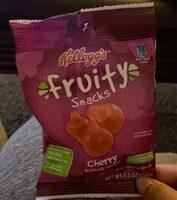 Kellogg's Fruity Snacks Cherry Fruit Flavored Snacks - Product - en