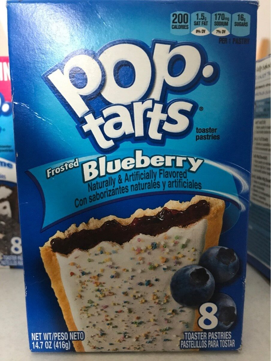 Toaster pastries, frosted blueberry - Product - en