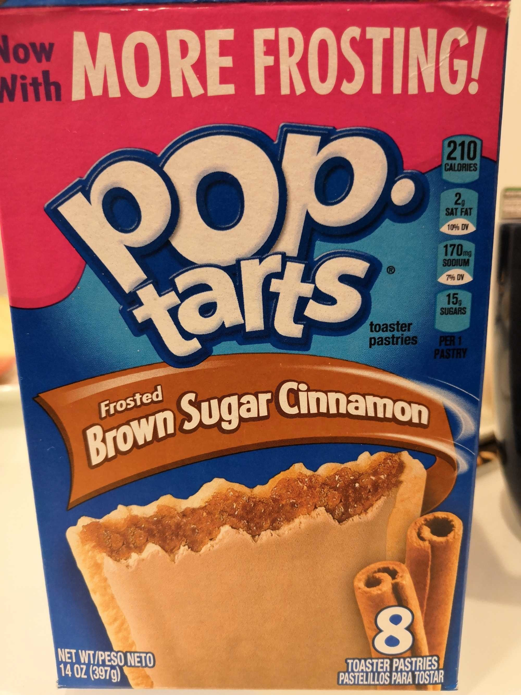 Toaster pastries, frosted brown sugar cinnamon - Produit - fr