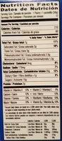 Frosted brown sugar cinnamon toaster pastries, brown sugar cinnamon - Nutrition facts - en