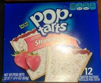Toaster pastries, frosted strawberry - Product - en